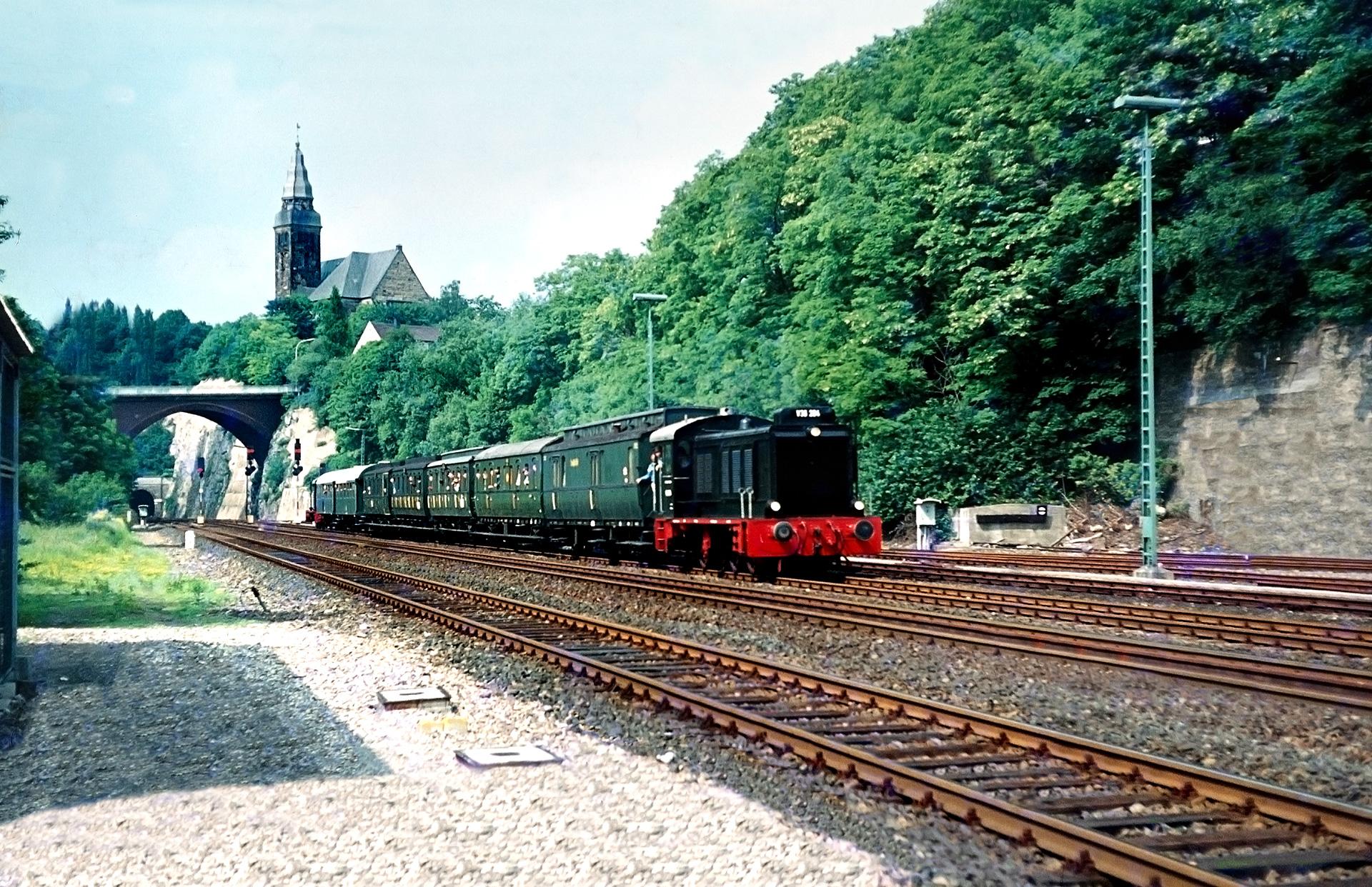 v36 204 wuppertal rauental eisenbahnfotograf